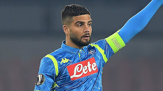 confirmed: Lorenzo Insigne ruled out of Barcelona Napoli clash