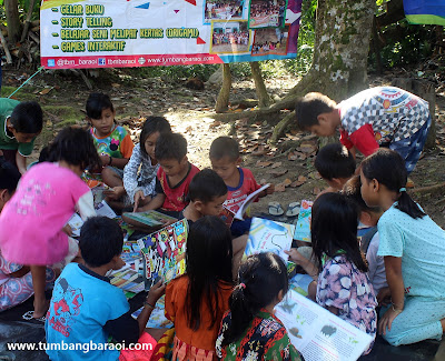 Aktivitas Literasi di Kalimantan Tengah