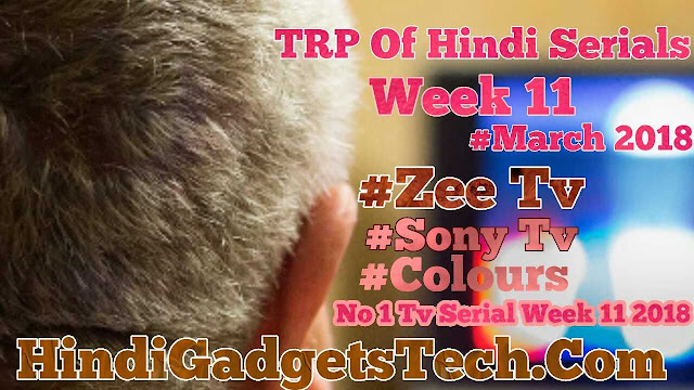 Ajun Singh Blogs Hindi Tv Serials Latest TRP Week 11March