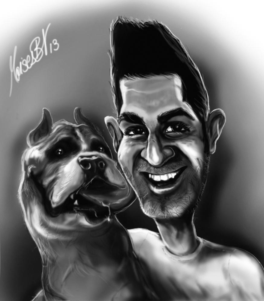 Caricaturizando At Moisesbv Alejandro Moreno El Pavo