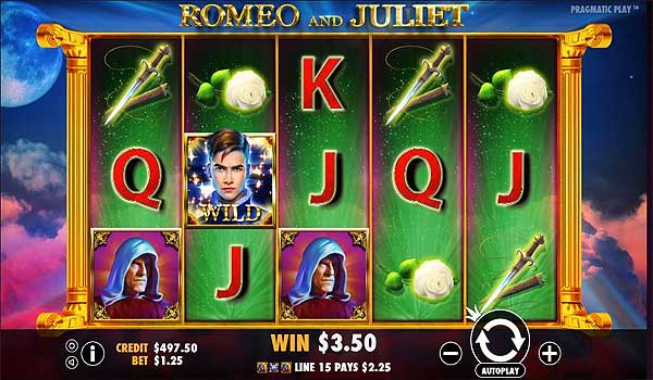 Main Gratis Slot Indonesia - Romeo and Juliet (Pragmatic Play)