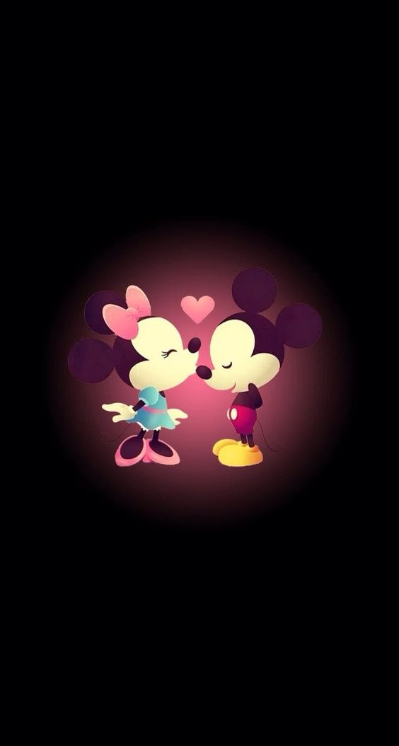 Sweet Micky Minni Iphone Whatsapp Wallpapers For Iphone