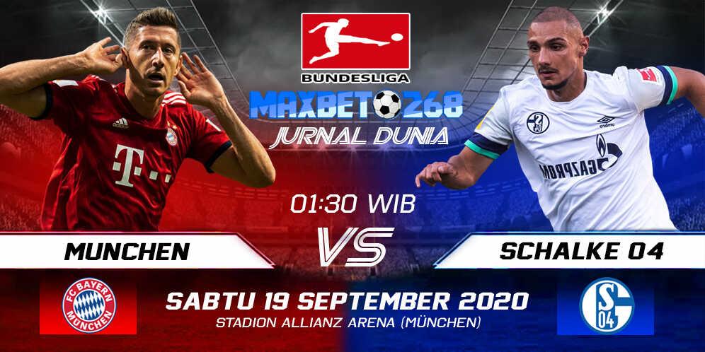 Prediksi Bayern Munchen Vs Schalke 04 19 September 2020 Pukul 01.30 WIB