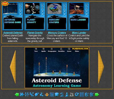 Astronomy Arcade Games