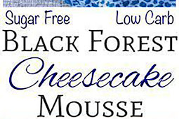 Low Carb Black Forest Cheesecake Mousse
