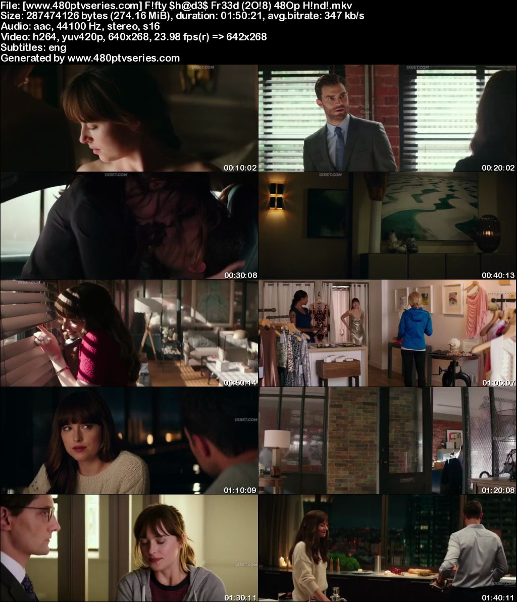 Fifty Shades Freed (2018) 300MB Full Hindi Dubbed Movie Download 480p Bluray Free Watch Online Full Movie Download Worldfree4u 9xmovies