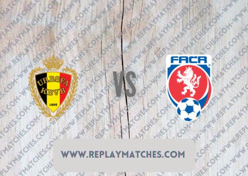 Belgium vs Czech Republic -Highlights 05 September 2021