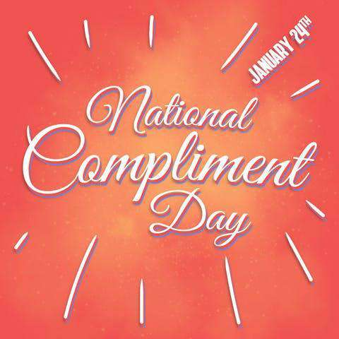 National Compliment Day Wishes Beautiful Image