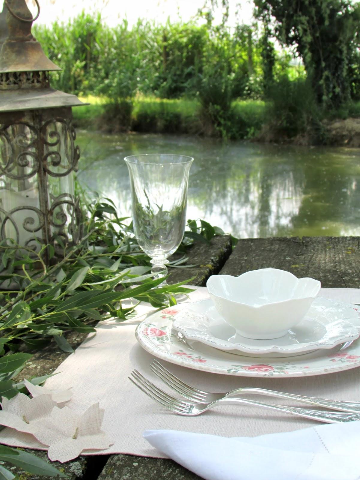 pranzo romantico vista lago