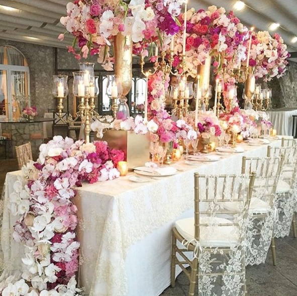 Lush Fab Glam Blogazine Stunning Indoor and Outdoor Wedding