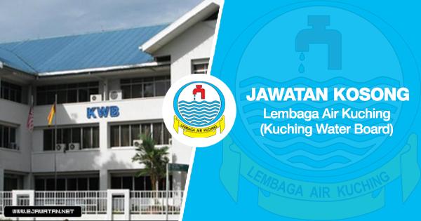 jawatan kosong Lembaga Air Kuching (Kuching Water Board) 2020
