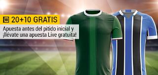 bwin promocion 10 euros Palmeiras vs Gremio 1 julio