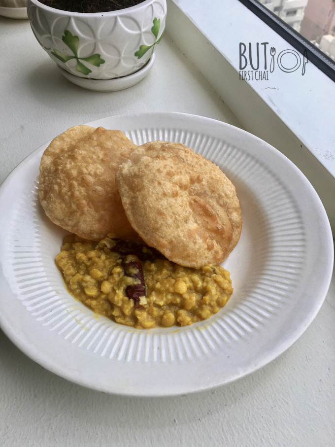 Cholar Dal | Split Chickpea in Whole Spices & Coconut