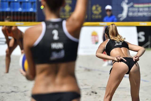 A strandröplabda is a multisport Eb programjában
