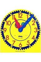 Carson Dellosa Judy Clock