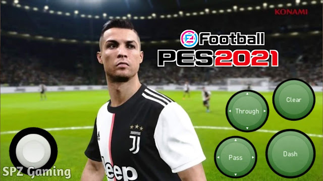 PES 2021 Android Offline 400MB Best Graphics Camera PS4 New Kits & Latest Transfer Update