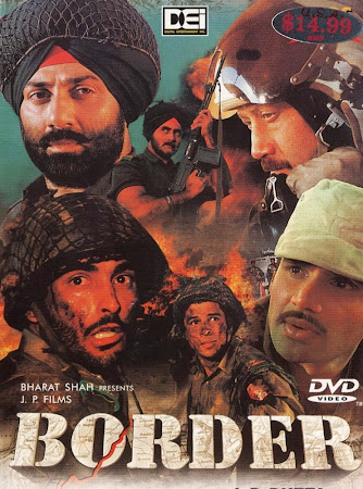 Poster Of Hindi Movie Border (1997) Free Download Full New Hindi Movie Watch Online At worldfree4u.com