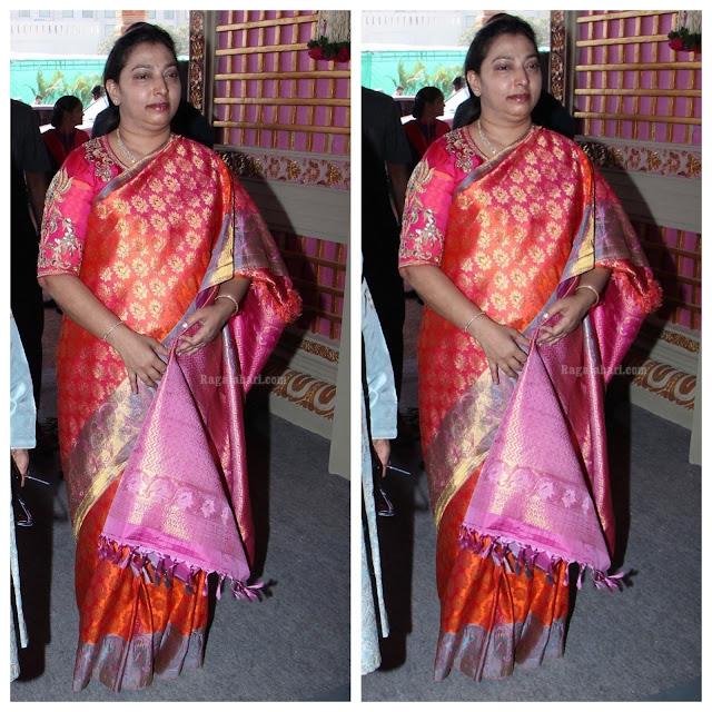 Vasundhara Benaras Brocade Saree