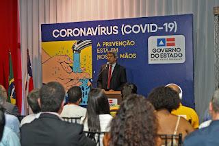 Bahia lança campanha para combater e prevenir o coronavírus