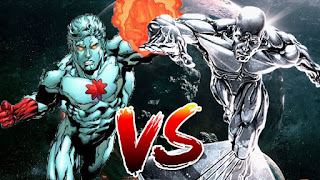 Silver Surfer vs Captain Atom