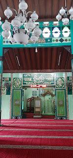 bagian utama masjid sultan suriansyah banjarmasin