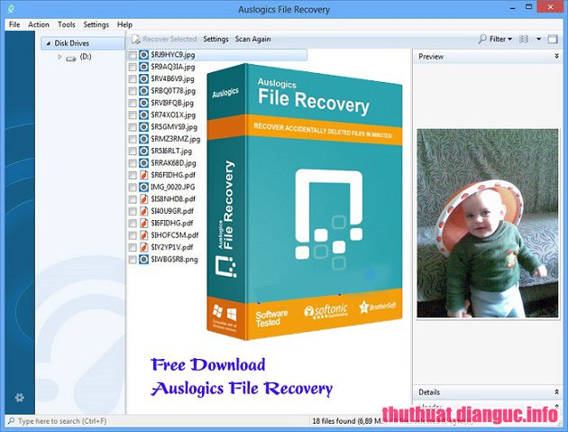 Download Auslogics File Recovery 8.0.22.0 Full Cr@ck