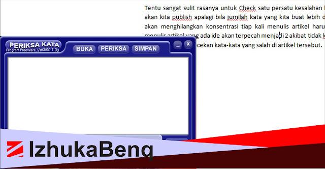 Check Ejaan Bahasa Indonesia