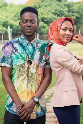 Image result for adekunle gold and zahra buhari made sickle cell ambassadors naija blog queen