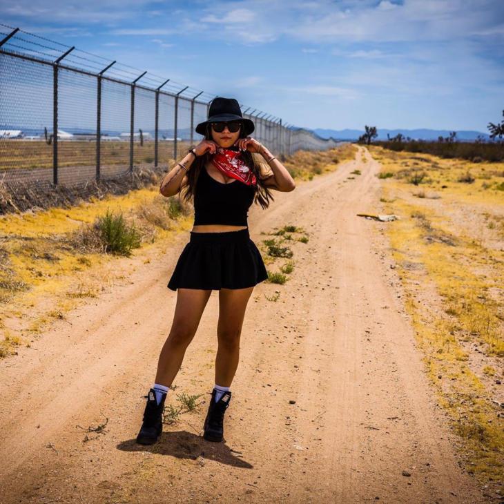 Mia Khalifa Latest Sexy Stills in Skirt
