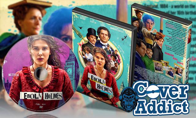 Enola Holmes (2020) DVD Cover