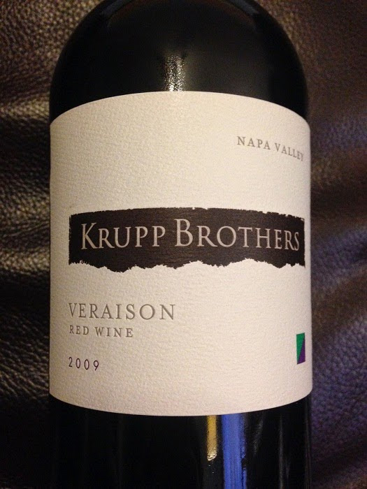 Midwest Wine Guy:  Truly Honest Wine Reviews and Education for the Wine Lover in Everyone!: 2009 Krupp Brothers Veraison Red Napa Valley