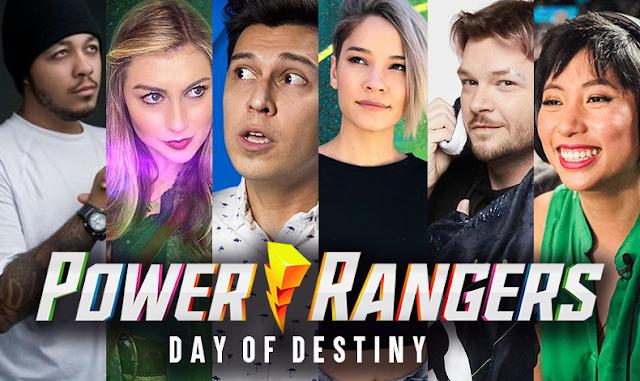 Novos detalhes da série Power Rangers Day of Destiny são revelados