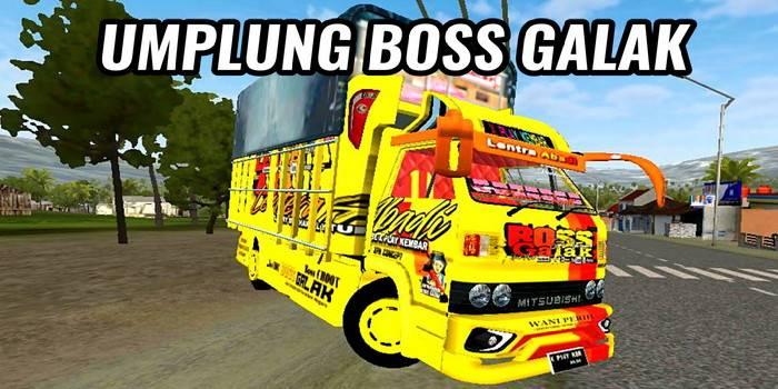 mod bussid umplung boss galak