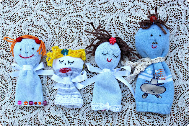 Sock Dolls from Handmade By Amalia