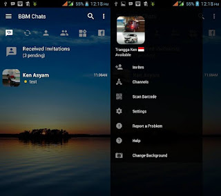 BBM Transparent Change Background v3.1.0.13 APK (CLONE)