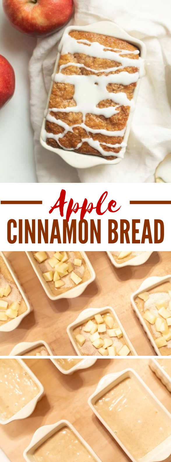 Apple Cinnamon Bread Recipe #desserts #breakfast