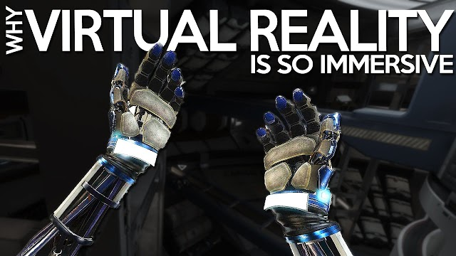 Why Virtual Reality Games Are So Immersive?