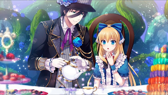 Otome Otaku Girl: Shall we date?: Lost Alice + Luke Main Story CG's
