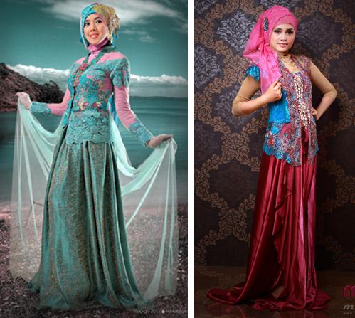model baju kebaya modern berjilbab