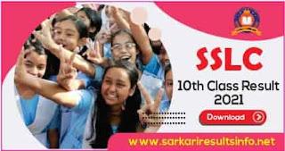 Kerala SSLC 10th Class Result 2021