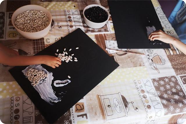 creare un mosaico romano con i bambini