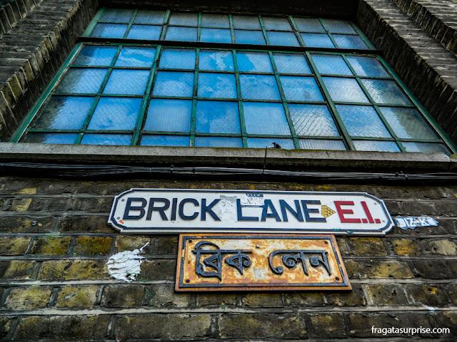 Bairro de Brick Lane, Londres