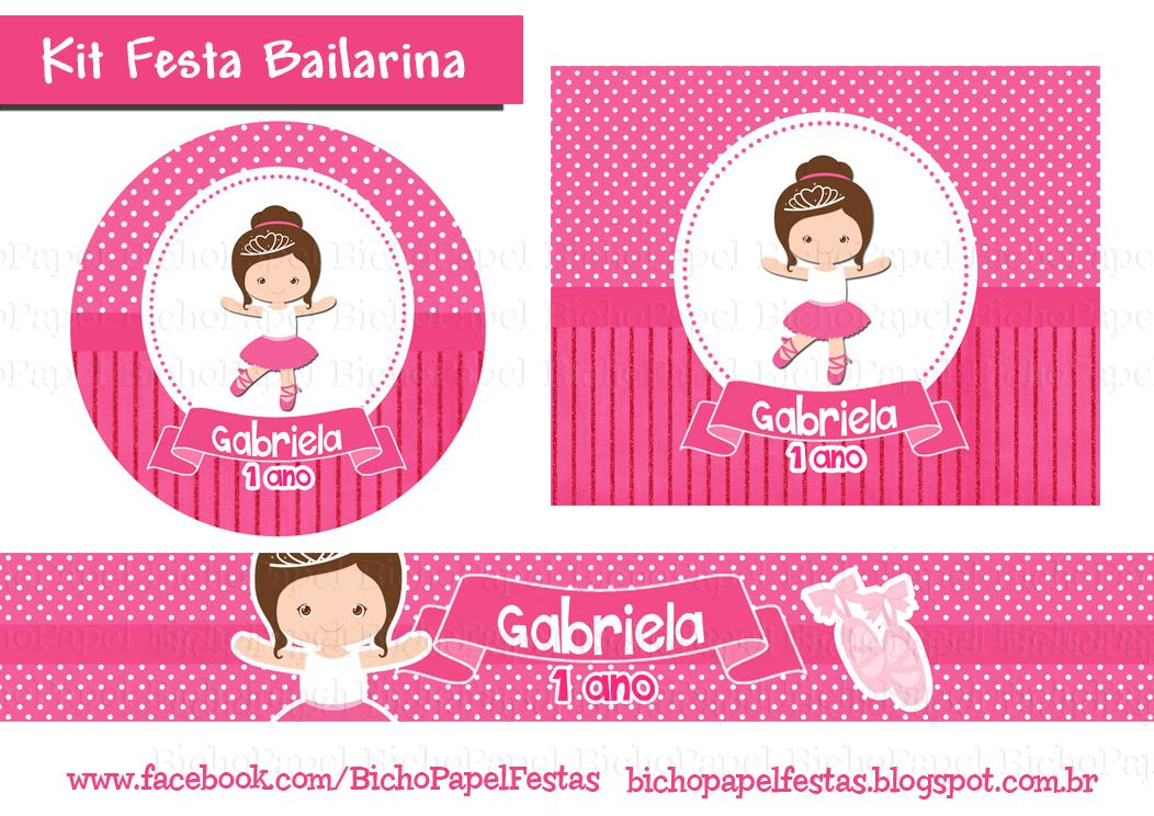 Kit Festa Bailarina