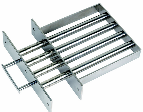 Magnetic Grate with easy cleaning