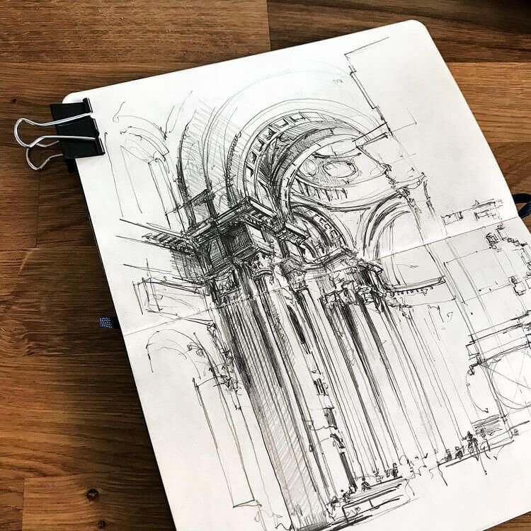08-Impressive-arch-Drawing-Jerome-Tryon-www-designstack-co