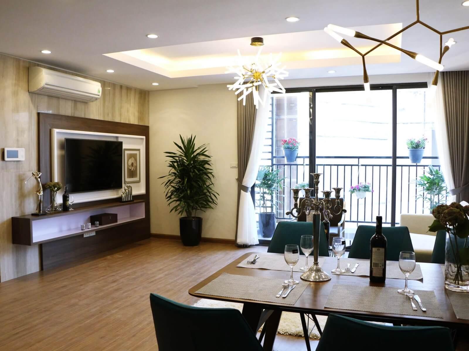 Nội thất căn hộ chung cư Vinata Tower