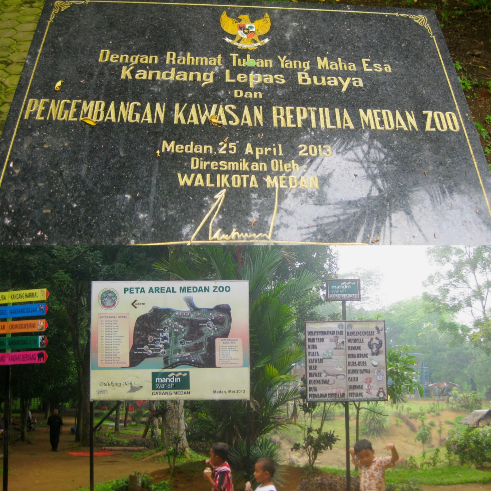 Kebun binatang di Medan