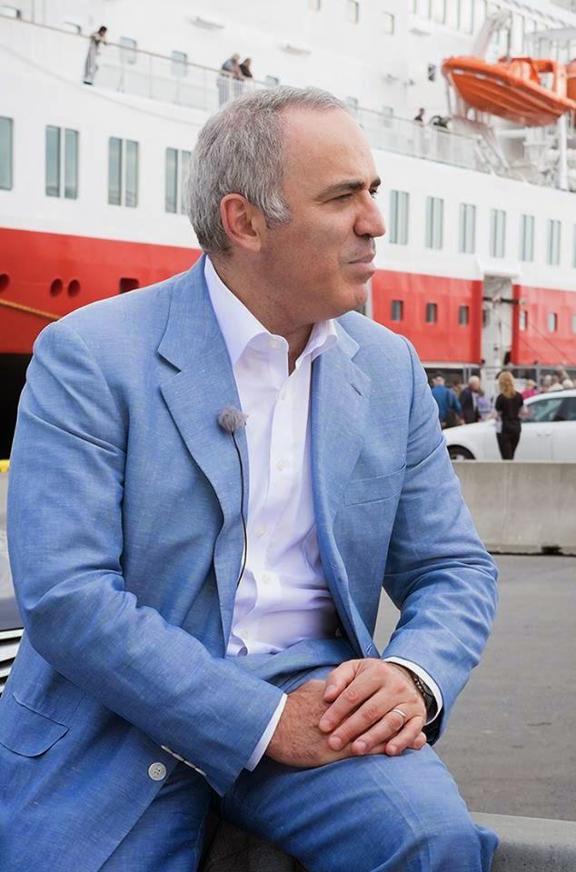 Garry Kasparov - Foto: Facebook Kasparov