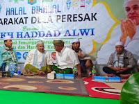 Hadad Alwi Temui Penggemarnya di Desa Presak Batukliang