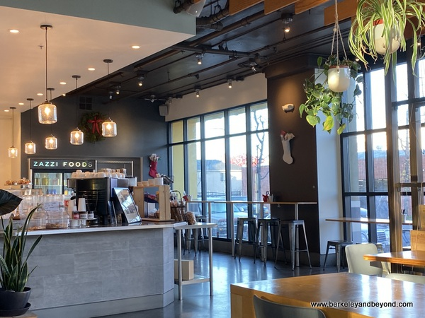 interior of Zazzi Foods in Berkeley, California